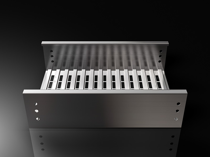 Husky Trough Tray Solid Bottom Cable Tray